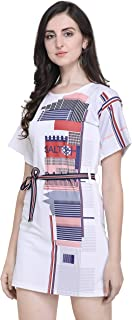J B Fashion J B Women Printed Dress with Half Sleeves for Office Wear, Casual Wear,Dress for Women/Girls Dress