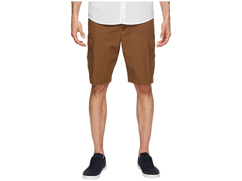 Dockers Standard Washed Cargo Shorts (Tobacco) Men