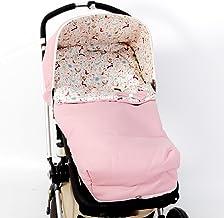 SACO SILLA PARA BUGABOO + CAPOTA (Serie Iris) Color rosa-