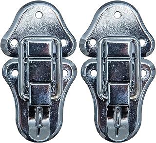 HMF 14986-09 spansluiting met slotoog | 2 stuks | 50 x 95 mm | zilver verzinkt
