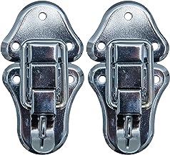 HMF 14986-09 spansluiting met slotoog   2 stuks   50 x 95 mm   zilver verzinkt