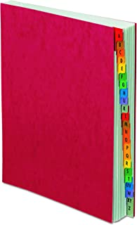 Pendaflex Expanding Desk File, Alphabetic (A–Z), Letter Size, Red, Each (11017)