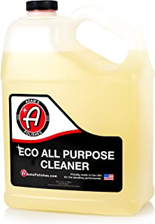 Adam's ECO All Purpose Cleaner Gallon - Industrial Strength, Concentrated Formula Can be Diluted Down - Tough on Dirt but Easy on Your Car, You, and The Environment