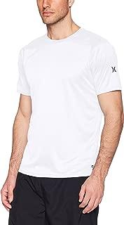Men's Nike Dri-fit Short Sleeve Sun Protection +50 UPF Rashguard