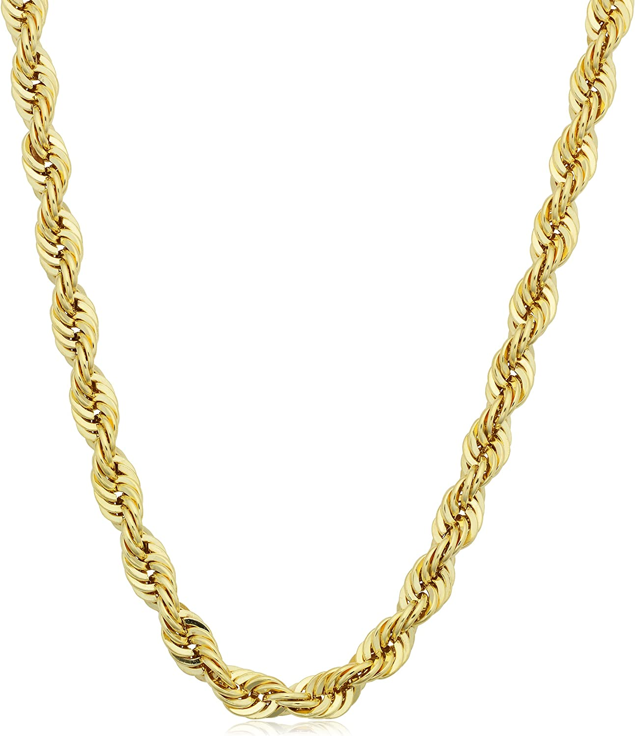 Kooljewelry 14k Yellow Ranking TOP8 Nippon regular agency Gold Filled 4.2mm Chain Rope 16 Necklace