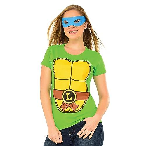 b2446589626 Rubie s Costume Teenage Mutant Ninja Turtles Top With Mask and Leonardo