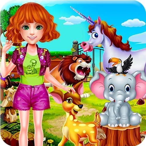 Ausflug nach das Zoo & Wilde Tiere - Ein lustiger Tag, um das Leben der Tiere zu erforschen, mit Schulfreunden zu spielen und zu genießen!