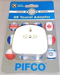 PIFCO UK Tourist Adaptor Plug, UK Version