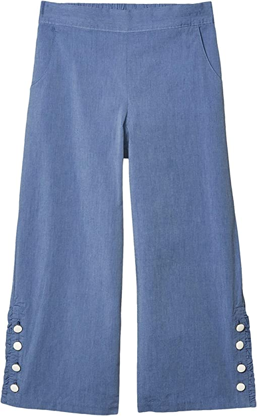 Toddler//Little Kids//Big Kids Janie and Jack Girls Pleated Wide Leg Pants