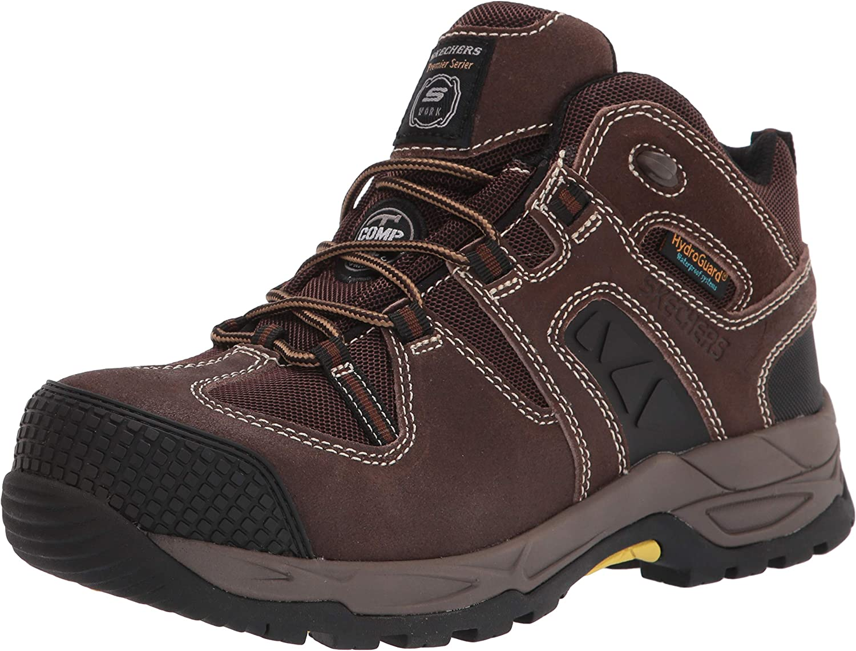 Cheap bargain Manufacturer regenerated product Skechers Men's Monter Construction Shoe