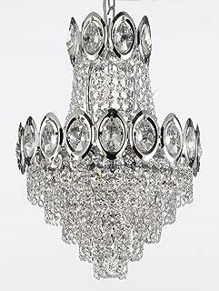 wave crystal chandelier