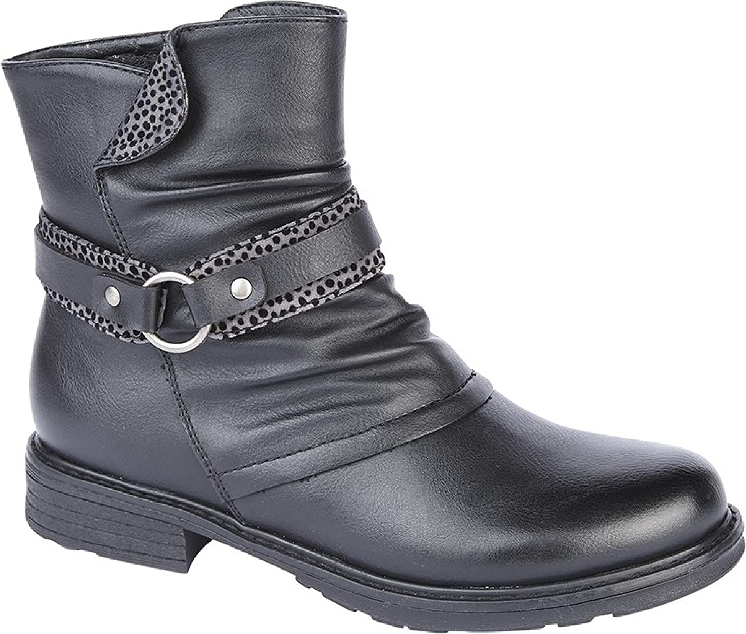 Cipriata Womens Ladies Caterina Zip Ankle Boot