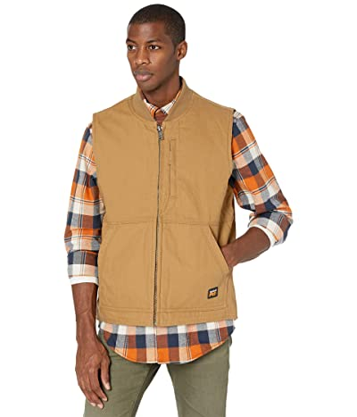 Timberland PRO Gritman Lined Canvas Vest (Dark Wheat) Men