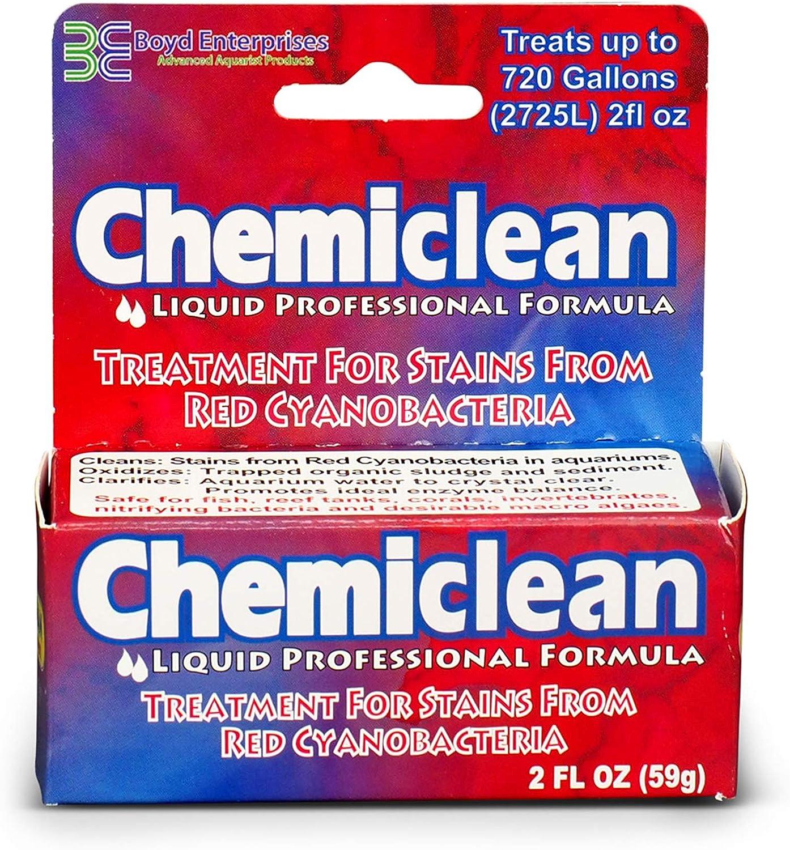 Free shipping on posting reviews Boyd Max 59% OFF Enterprises ABE16755 Chemiclean 2-Ounc for Liquid Aquarium