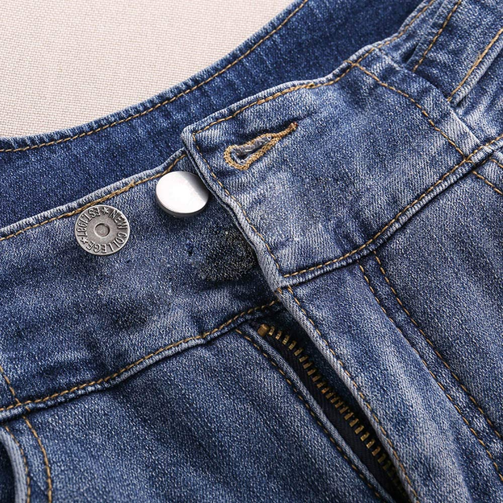 Button Pins for Jeans Easy to Use and No Tools Require. Button Jean Button Pins for Pants Fashion Jeans Swing Crafts DIY