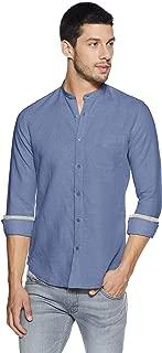 KILLER Men's Solid Slim Fit Casual Shirt