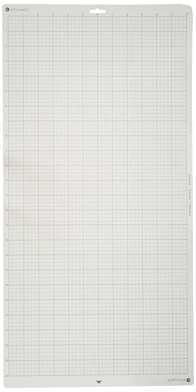 Silhouette Cameo 12-Inch by 24-Inch Cutting Mat 2 Pack