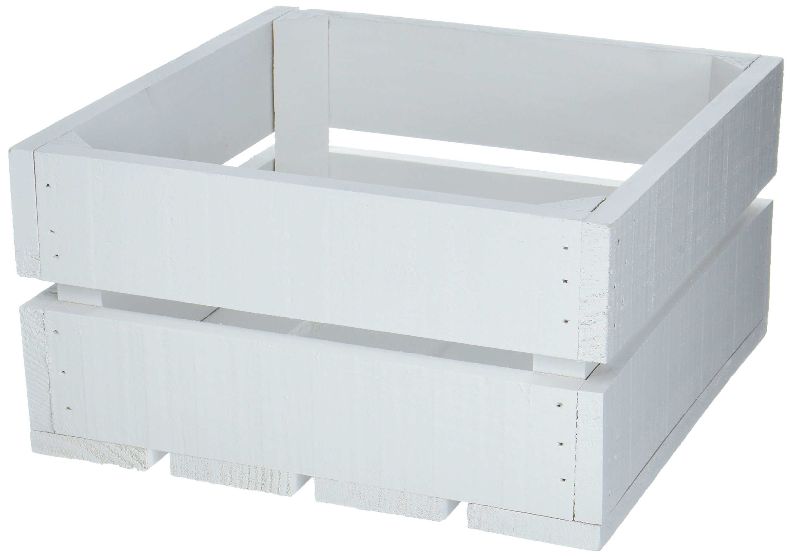 Caja de Madera Decorativa de Madera Blanca