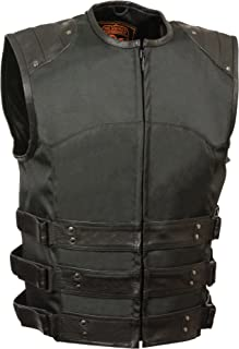 Milwaukee Performance Men's Updated Textile Swat Vest with Tri Belts (Black, Large)
