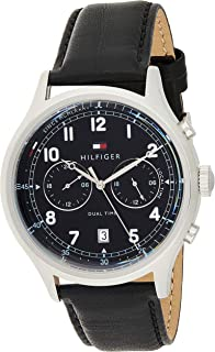 Tommy Hilfiger Women's Quartz Watch, Analog Display and Leather Strap 1791388