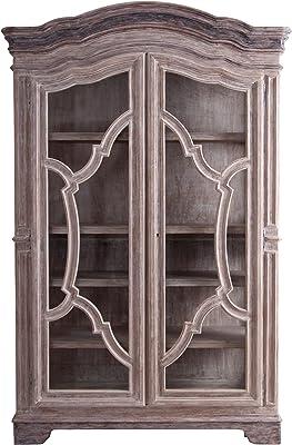 Amazon.com: Tesoro Librero con dos puertas, Madera Noble ...
