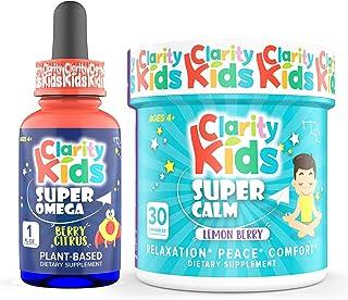 Clarity Kids Super Calm + Super Omega Bundle