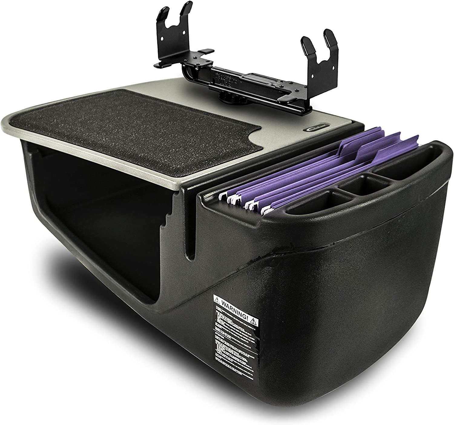 AutoExec AUE24000 NEW before selling Efficiency GripMaster Car Max 61% OFF wit Finish Grey Desk