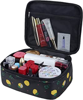 MKPCW Portable Travel Makeup Cosmetic Bag Organizer Multifunction Case for Women (Color28)