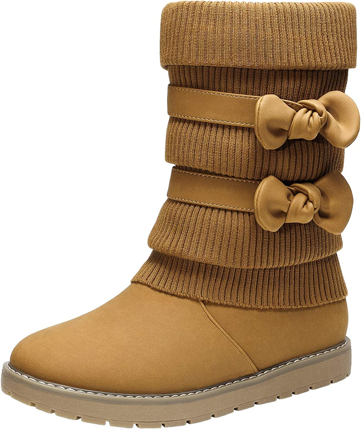Max 46% OFF DREAM PAIRS Girl's Winter Snow Boots Mid Fur Lined Calf Max 85% OFF Faux Sho