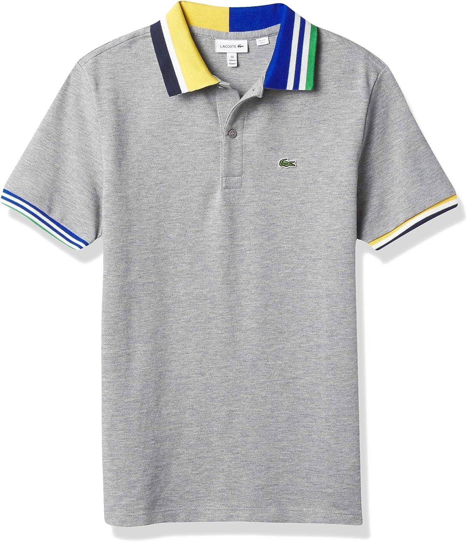 Lacoste Boys' Short Sleeve Semi Fancy Polo Shirt
