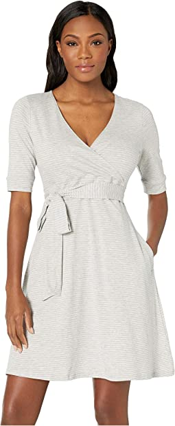 Heather Grey Mini Stripe