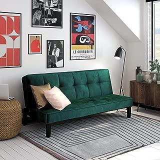 Best green velvet futon Reviews