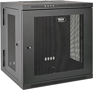 "Tripp Lite - SRW12US 12U Wall Mount Rack Enclosure Server Cabinet, Hinged, 20.5"" Deep, Switch-Depth (SRW12US) black"
