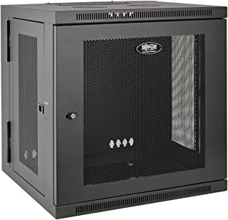 Tripp Lite 12U Wall Mount Rack Enclosure Server Cabinet, Hinged, 20.5