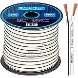 "PSP12-20-QQ 20 Ft 12 Gauge Speaker Cable with Jumbo 1//4/"" Connectors ProCraft"