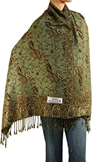 Falari 女式针织羊绒披肩围巾 203.2 cm x 68.58 cm