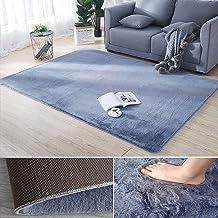 Area Rug Modern Shaggy Rug Soft Fluffy Bedroom Floor Carpet Upgraded Carpet for Living Room Anti-slip with 3m Nano Adhesiv...