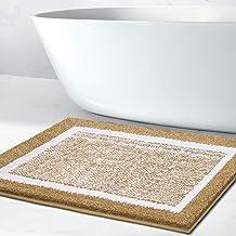 Bathroom Rug Mat, Ultra Soft and Water Absorbent Bath Rug, Bath Carpet, Machine Wash/Dry, for Tub, Shower, and Bath Room (...