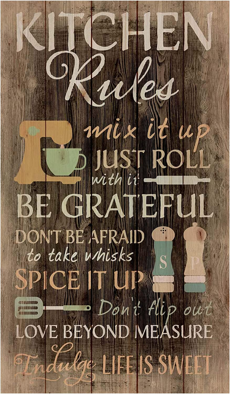 P. Graham Dunn Save money Kitchen Shipping included Rules Distressed Pallet 24 Wall Wood x 14