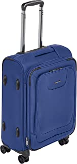 Best Expandable Softside Carry-On Spinner Luggage Suitcase With TSA Lock And Wheels - 23 Inch, Blue Review