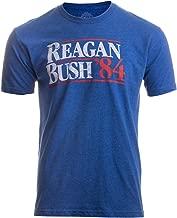 Reagan Bush '84   Vintage Style Conservative Republican GOP Unisex T-Shirt
