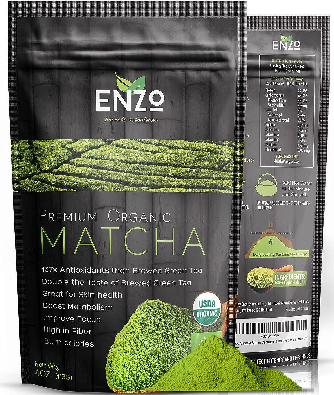 Organic Matcha Green Tea Powder - Culinary Premium Bargain sale Grade Maccha Houston Mall