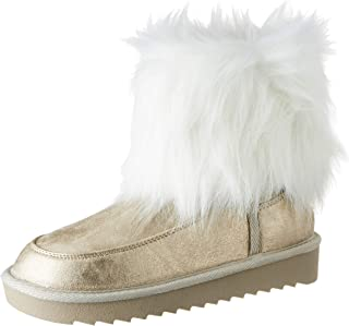D. Franklin Nordick Basic Big Fur Platino, Botas Slouch Mujer