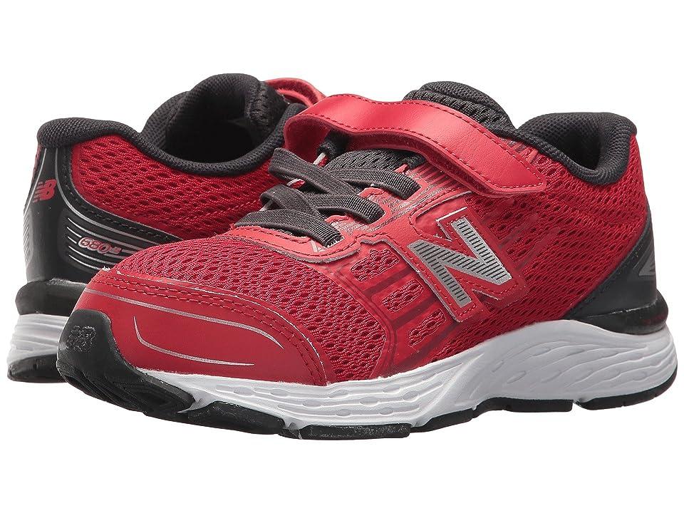 New Balance Kids KA680v5Y (Little Kid/Big Kid) (Team Red/Phantom) Boys Shoes
