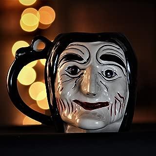 Weird Wolf Lady Jigsaw Collectible Coffee Mug (Spooky Series Edition)