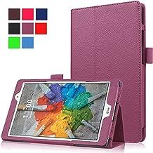 Asng LG G Pad X 8.0 / G Pad III 8.0 Case - Slim Folding Stand Cover Smart Case for LG G Pad X 8.0 (V521) / AT&T (V520) / LG G Pad III 8.0 (V525) 8-Inch Tablet (Purple)