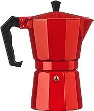 Amazon.es: cafetera italiana roja