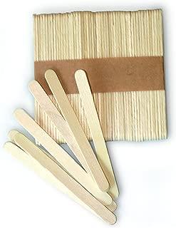 Silikomart Silicone Easy Cream Wooden Sticks for Mini Ice Cream Bars, Set of 100