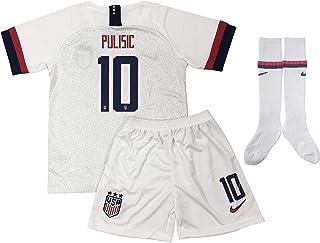 New 2019/2020 Christian Pulisic #10 USA National Soccer...