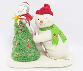 Trimming the Tree Snowman Techno Plush